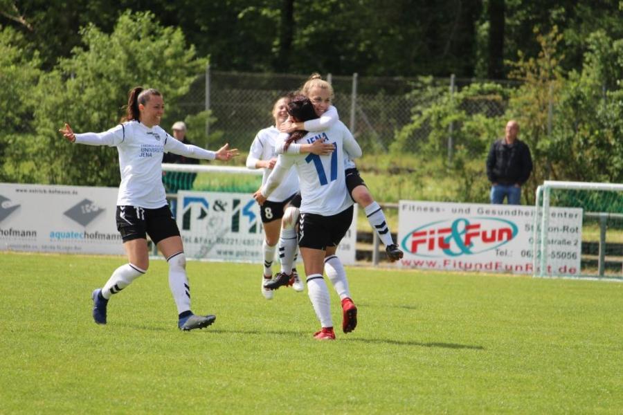 Die Ladies vom FF USV JENA siegen in Hoffenheim mit 0:2 gegen die U20 der TSG 1899 am Sonntag