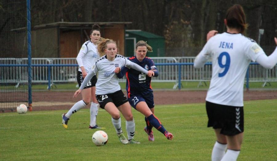 Schwache erste Halbzeit verhindert Punktgewinn .. 2. Frauen-Bundesliga: 1. FFC Turbine Potsdam II – FF USV Jena 3:2 (3:0)