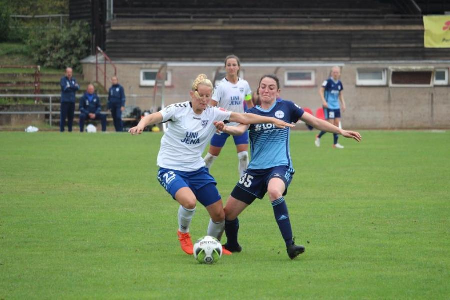 FF USV Jena zieht nach Pokalfight in nächste Runde ein