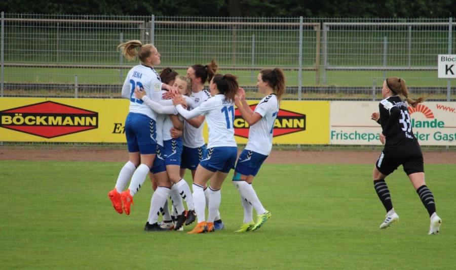 Jena zittert sich zum Auswärtssieg 2. Frauen-Bundesliga: BV Cloppenburg – FF USV Jena 0:1 (0:1)
