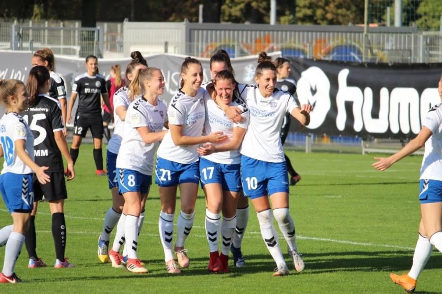 Alles oder nichts: das große Finale .. 1. FC Saarbrücken – FF USV Jena in der 2. Frauen-Bundesliga